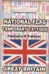 Great Britain Union Jack Country Flag Tattoos.
